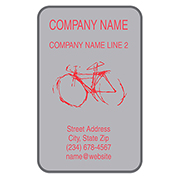 Custom Bike Labels