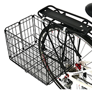 Folding Rear Basket