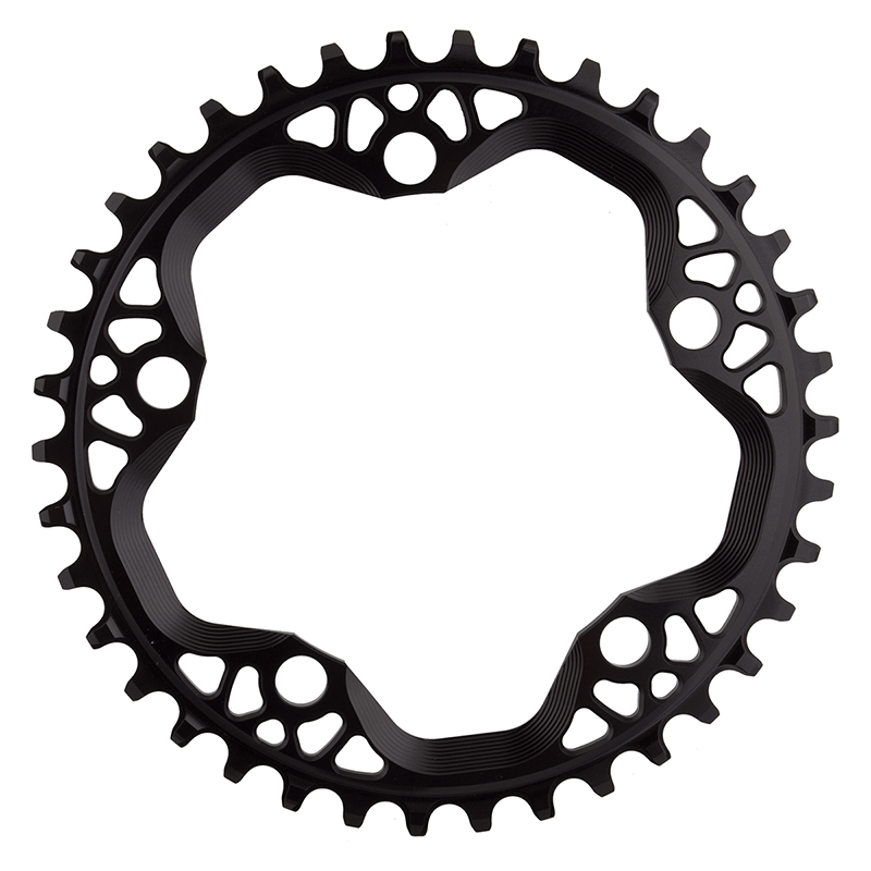 Absolute Black Cyclocross N//W Chainring Absoluteblack 110mm 38t 5b Bk