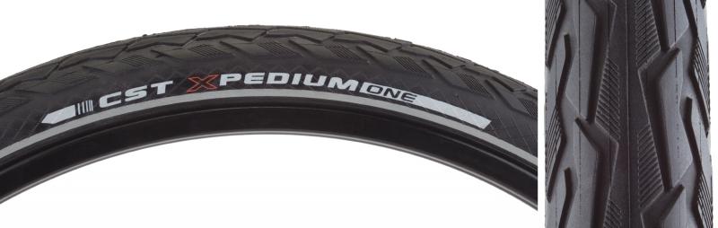 CST PREMIUM Tires Cstp Xpedium 700X45 Bk//Bk Wire Sc//Apl