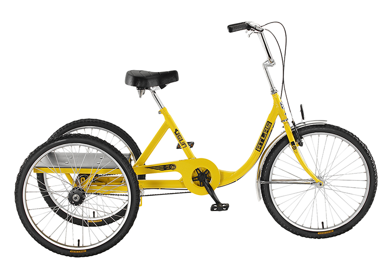 Sun Bicycles Atlas Cargo 24 Industrial Trike | Tricycle