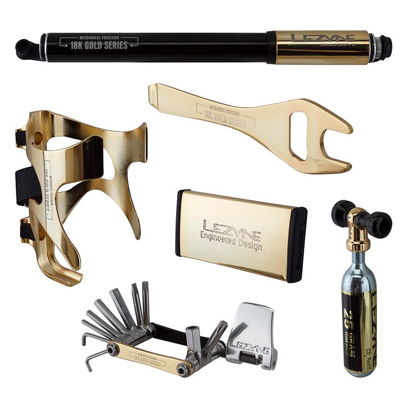 LEZYNE Mechanical Precision 18K Gold Series