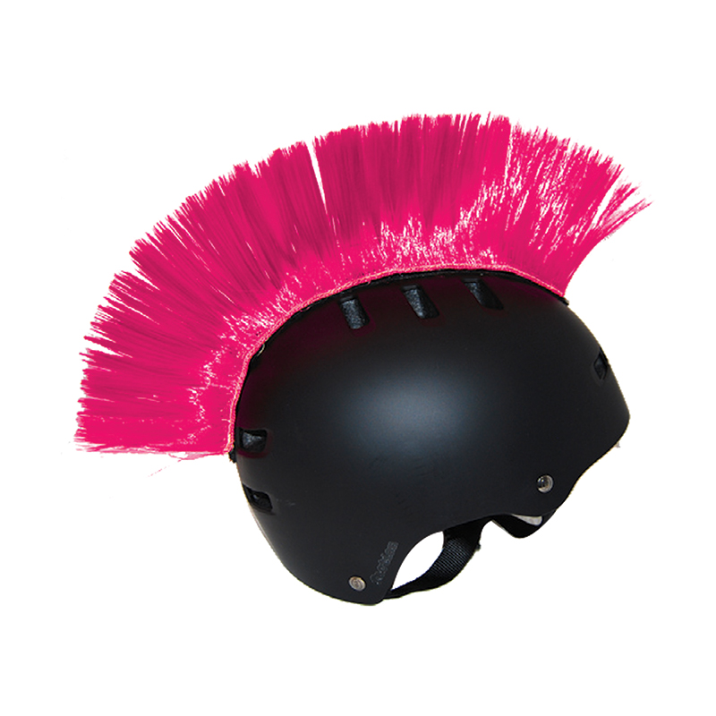 PC Racing Motorcycle Helmet Pink Mohawk PCHMPINK
