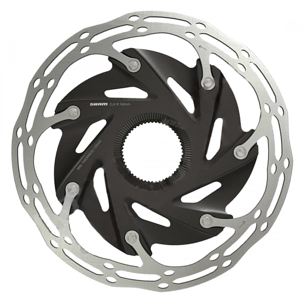 Sram Brake Part Disc Rotor 180 C-Line 6B 2-Piece Rounded Bk