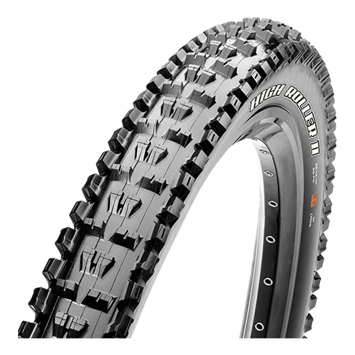 Maxxis High Roller II SC//TR//DH//2PLY Tire 27.5x2.4 Bk Fold//60