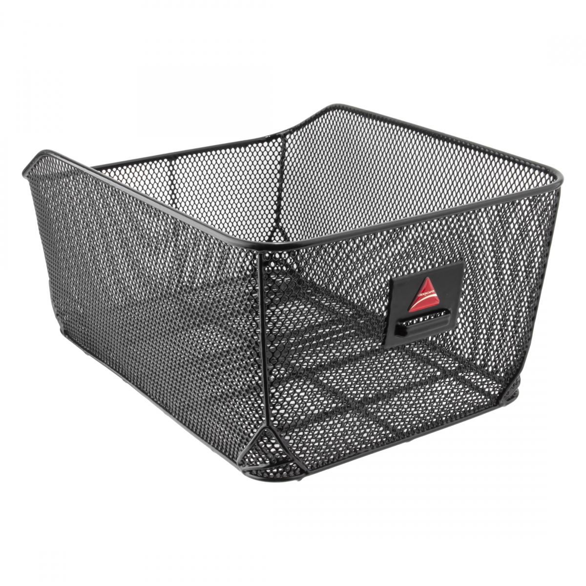 Axiom QR Dual-Function Premium Pet Basket Ft//rr Wire Hb//ractop Qr Bk Pet Basket