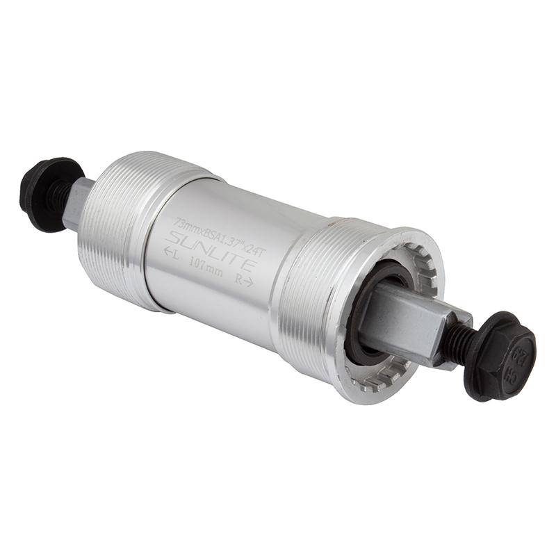 Sunlite Bottom Bracket Set Sl55 73X118 Sq Aly-Cup Eng Sealed Brg