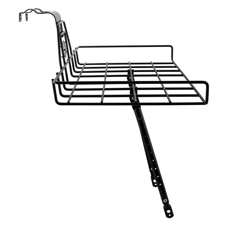 Sunlite Flip-Top Rack Racks For Bikes Front Brake Boss//Eyelet Black 26` Thru 29`