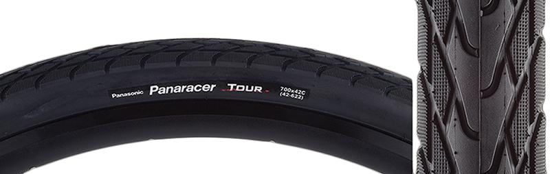 Panaracer Tour 700X42 Wire Black//Black Tire