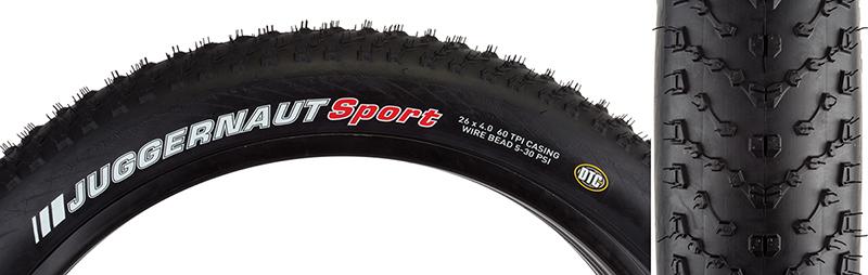 Kenda Juggernaut Tire Ken Juggernaut 26x4.5 Bk//bks//bsk Wire