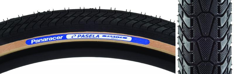 Panaracer Pasela Protite Tire Pan Pasela Protite 27x1-1//4 Fold Bk//sk