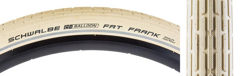 28x2.0 Tires Schwalbe Fat Frank K-Guard 700x50 Cr//Cr//Ref Wire