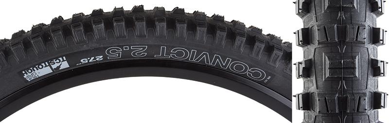 NEW WTB Convict TCS Tough High Grip Tire 27.5 x 2.5 Folding Bead Black