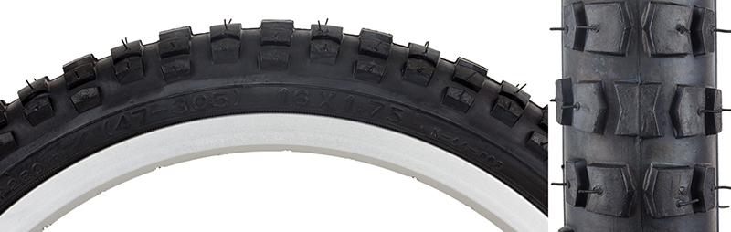 Sunlite Street Tire Sunlt 26x1.75 Bk//bk Street K123