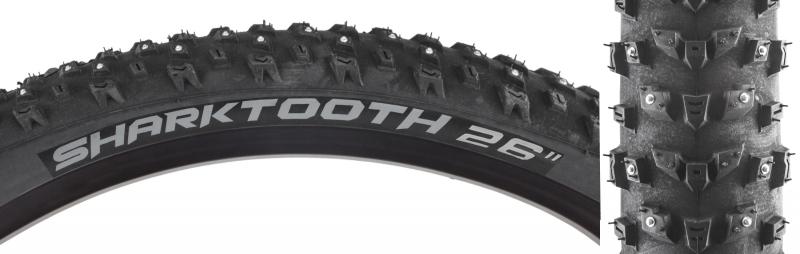 ARISUN Tires Arisun Sharktooth 26X4.0 Bk Wire/60/152-Stud