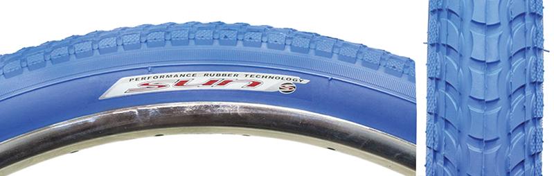 Sunlite Tire 26X2.125 Bu//Blue Cruiser K927W