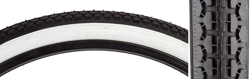 Sunlite Tire 26X1-3//4 S7 Bk//Wh Street K75