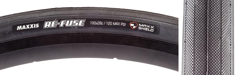 NEW Maxxis Re-Fuse Tire 700 x 28 Folding 60tpi Single Compound Maxx Shield Black