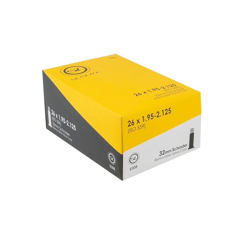 2 pack 26X1.95-2.125 32mm Schrader Valve bicycle inner tubes ** New **