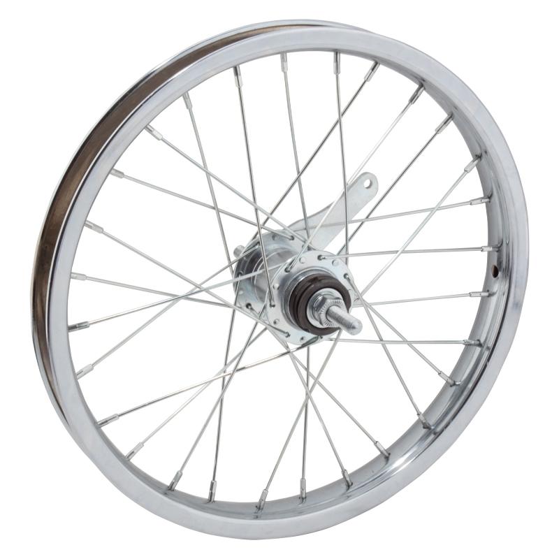 WM Wheel  Rear 16x1.75 305x25 Stl Cp 28 Kt Cb 110mm 14gucp W//trim Kit
