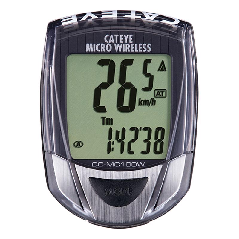 Cateye Micro Wireless Bicycle Computer Black Bike Speedometer Cc