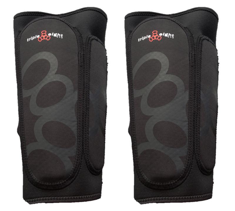 Triple Eight Exoskin Shin /& Whip Guard Pad Set Triple8 Exoskin Shin//whip Grd Sm